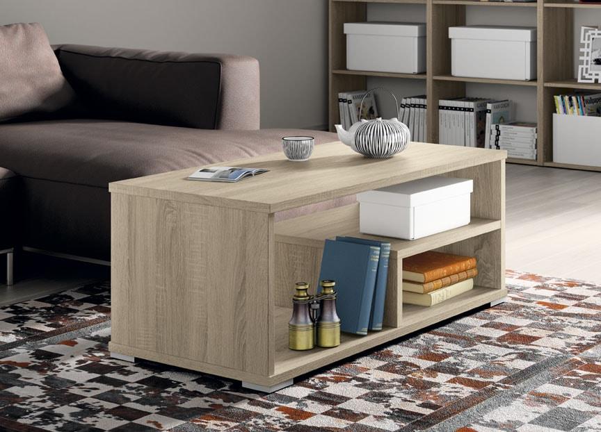 Mesa centro fija de 100x50 cambrian. Una mesa con estilo propio. Disponible en más colores.