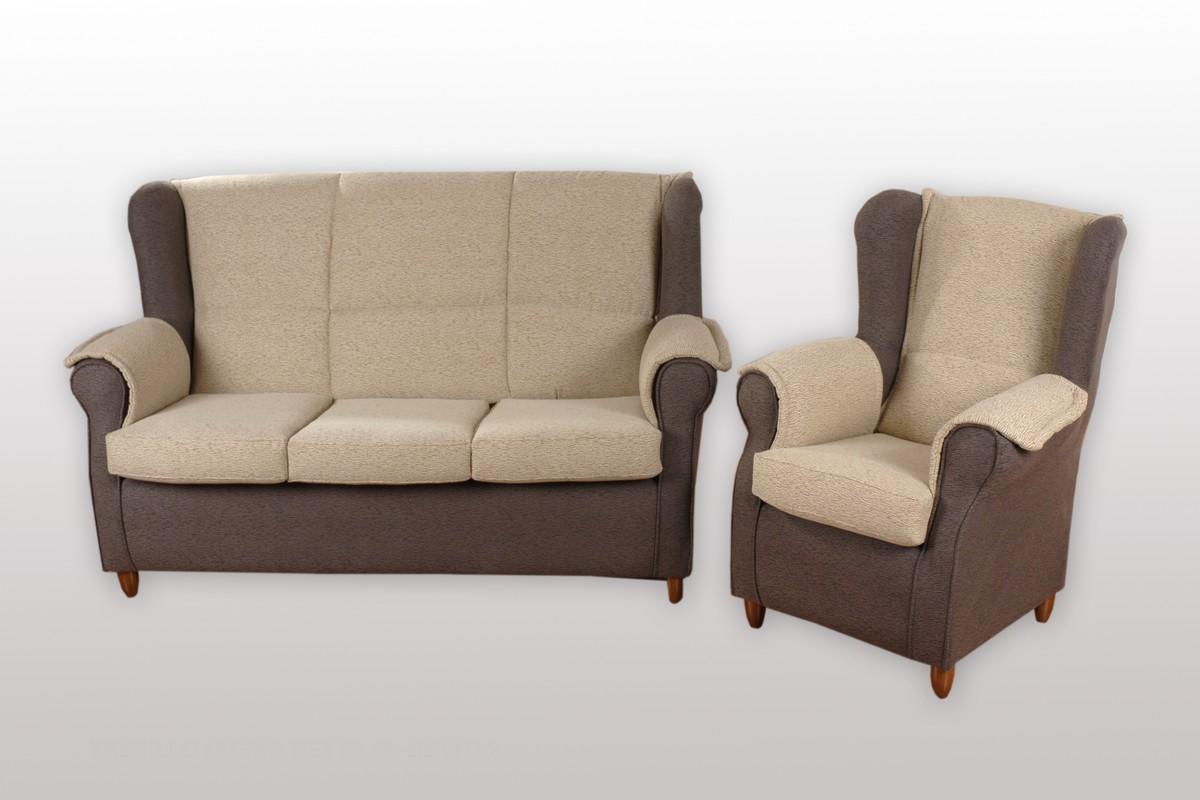 Tresillo de camilla con diferentes opciones modulares, desenfundable y tapicerías muy variadas.