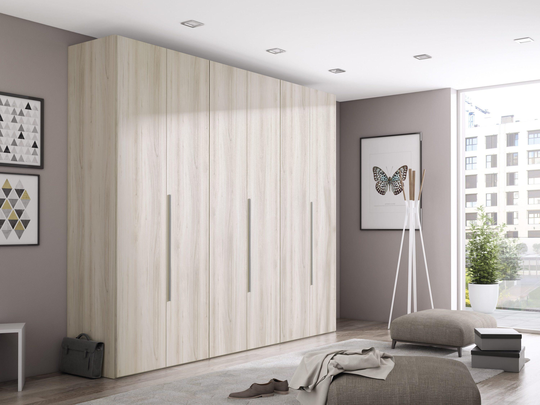 Armario 4 puertas batientes de diferentes medidas y acabados. Éste armario te ayudará a sacar partido de tu espacio y te resultara muy práctico para dar cabida a tu ropa.